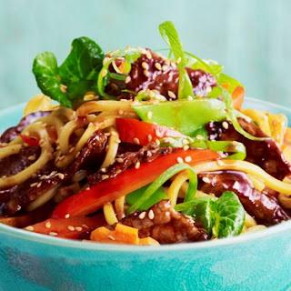 Sizzling Sesame Beef Stir-fry