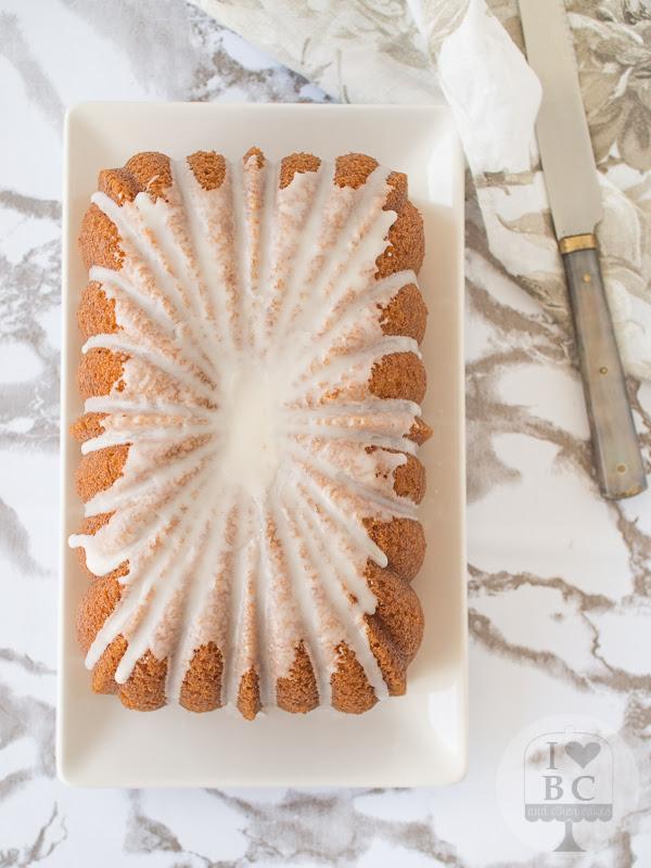Loaf Cake de nata y vainilla