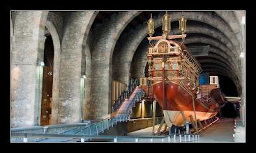 Photo: Galera Real de Juan de Austria: Vista de Popa