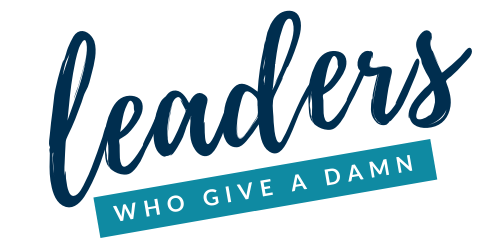 leaders who give a damn logo