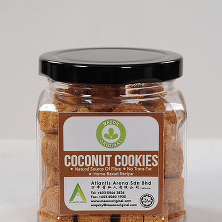 Mason Original Coconut Cookies (100g) by The Health Story Enterprise