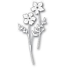 Memory Box Die - Cheery Flower Stems