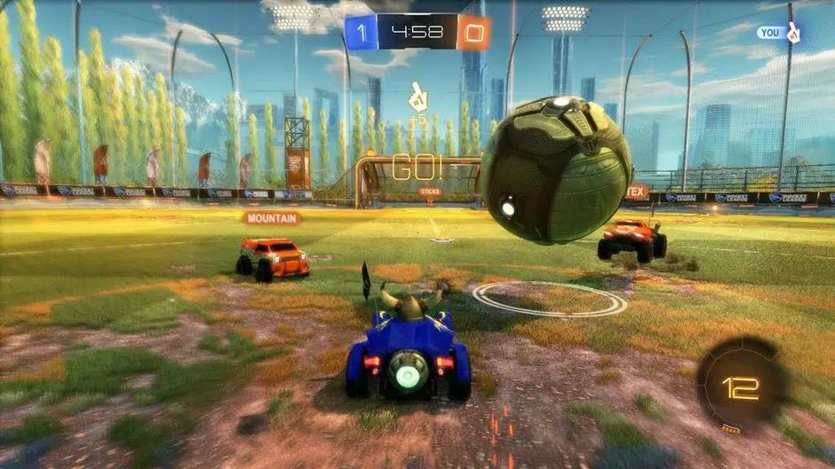 Luật chơi Rocket League đơn giản
