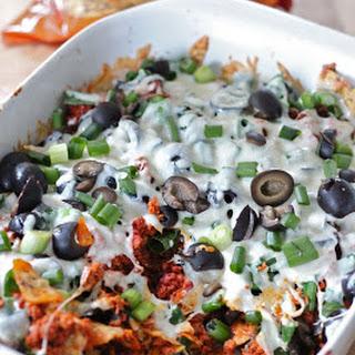 Chorizo Veggie nachos