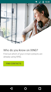 XING- screenshot thumbnail
