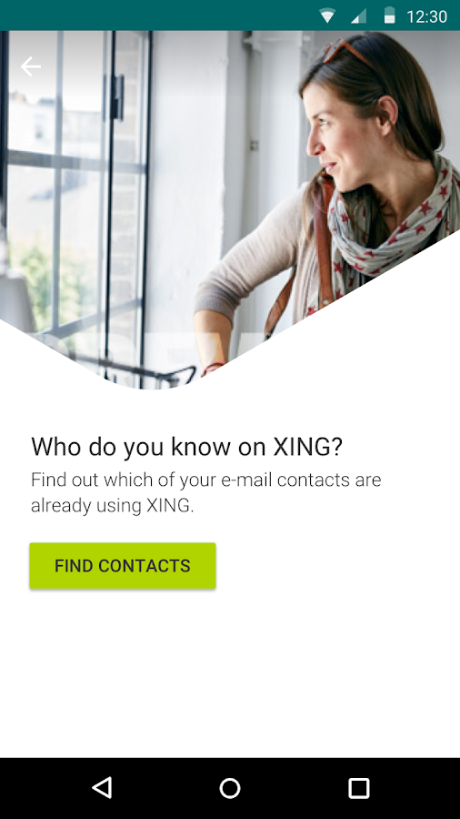 XING- screenshot