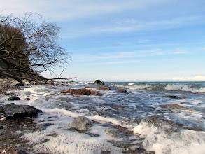 Photo: Die Ostsee am Brodtener Ufer