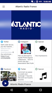 Atlantic Radio France- screenshot thumbnail