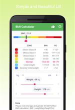 BMI Calculator screenshot thumbnail