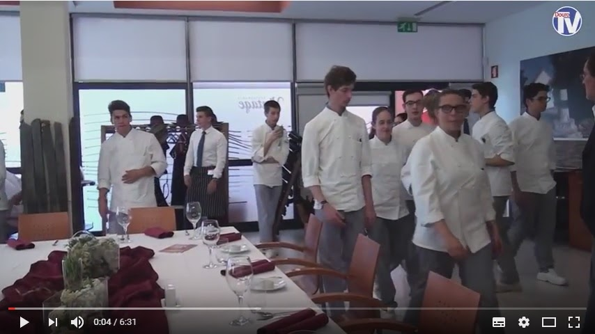 Vídeo - Confraria promove Vitela de Lafões na Escola de Hotelaria e Turismo de Lamego