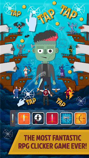 TapTastic Heroes - Idle RPG Clicker Game apkdebit screenshots 1