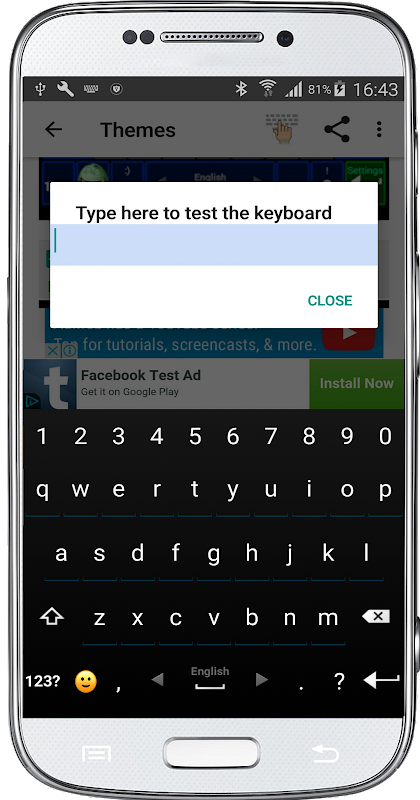 Classic Big Keyboard screenshots