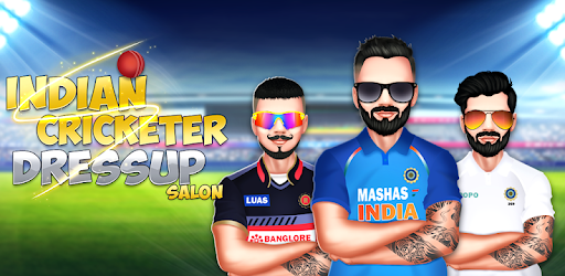 Indian Cricketer Dressup Salon for PC