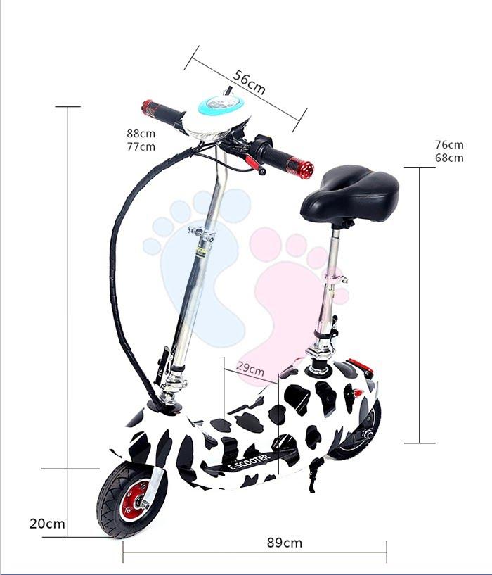Xe điện E-Scooter mini gấp gọn 4