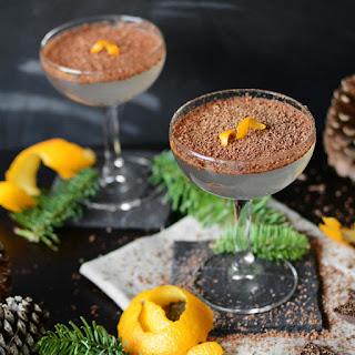 Chocolate Orange Cocktail.