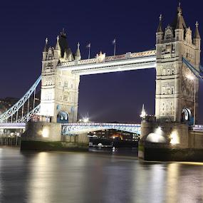 Tower Bridge by Andy Mays - Buildings & Architecture Bridges & Suspended Structures ( pwcbridges )