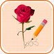 How to Draw Flowers Step by Step - Androidアプリ