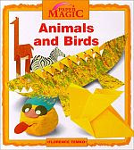 Photo: Animals and Birds (Paper Magic) Temko, Florence Millbrook Pr 1996 paperback 45 pp 9.64 x 8.62 ins ISBN 0761300708
