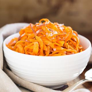 Simple Roasted Sweet Potato Noodles.
