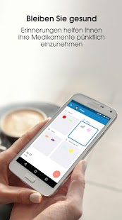 Alarm Medikamenten-Einnahme Screenshot