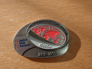 Photo: Lots of pain and effort for a small medal :)