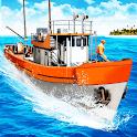 Fishing Boat Simulator 2021 : Boat and Ship Games icon