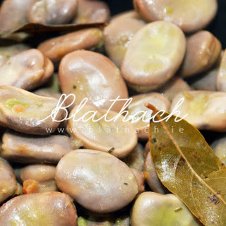 Broad Beans (fava beans).