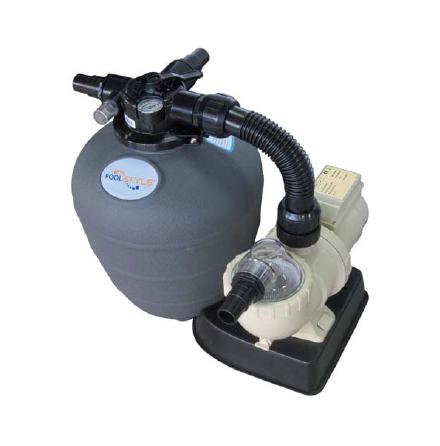 Pump & filter kit Poolstyle 450mm