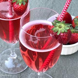 Apple Cider Vinegar Berry Sparkler.