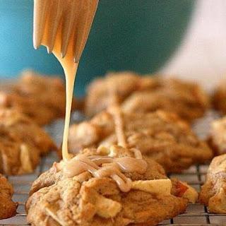 Marvelous Maple-Glazed Apple Cookies