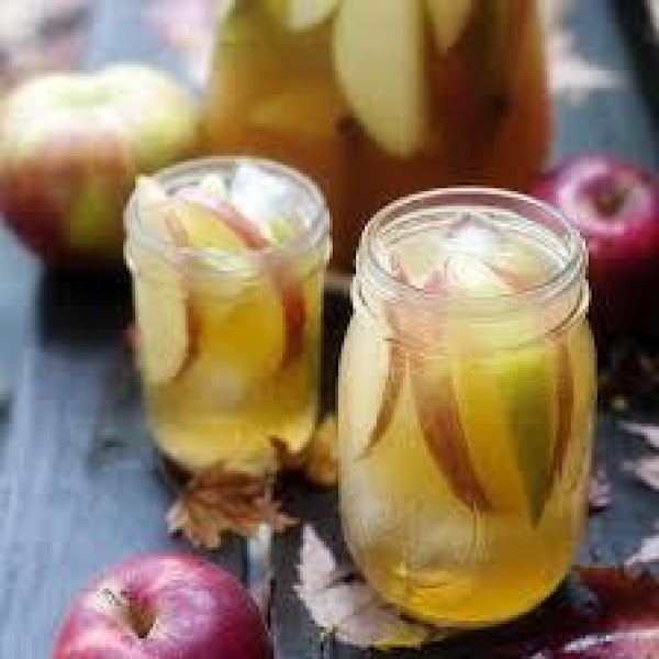 Something Special Holiday Apple Cider Sangria Recipe