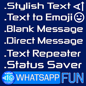 Wafun Fun Tool Kit For Whatsapp Stylish Text Ver7 Apk