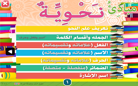 Principles of Arabic grammar 👉Part I👈 1.0.19