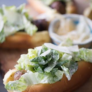 Caesar Salad Italian Sausage