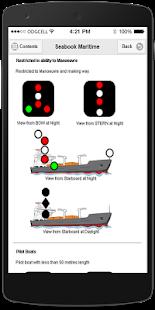 Screenshots of Seabook for iPhone