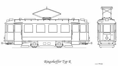 Photo: W latach 1924-26 dostarczono do Poznania 15 sztuk takich wagonów. Wagon posiadał na ścianach bocznych po 4 duże prostokątne okna (z czego 2 środkowe opuszczane) z szerokimi słupkami międzyokiennymi. Wagon posiadał całkowicie zabudowane pomosty. Magistrat zatwierdził taki wygląd  wagonów jako obowiązujący dla wszystkich nowych wagonów w PKE. Wagony miały różne wyposażenie elektryczne: pięć pierwszych posiadało osprzęt Siemens-Schuckert, 2 silniki Dy551b miały moc 34kW każdy. Reszta wagonów miała osprzęt firmy Brown-Boveri, 2 silniki GTM2i miały moc 32,8kW każdy.
