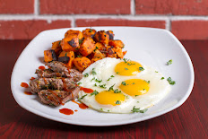 Filet and Eggs