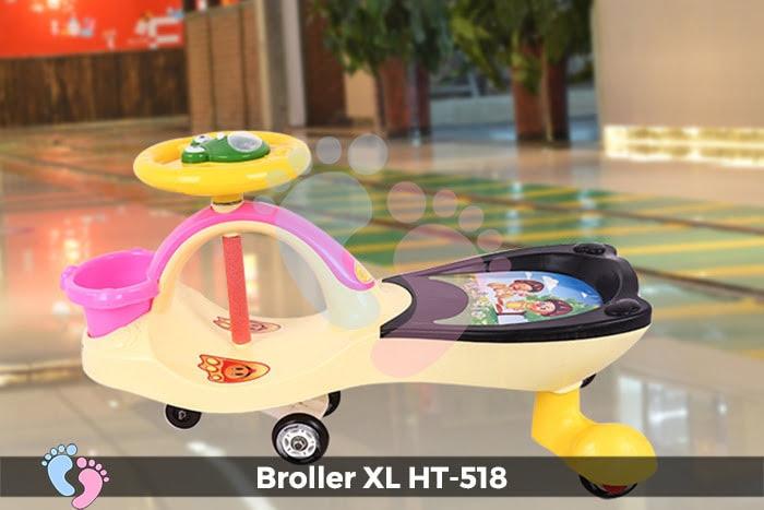 Xe lắc tay cho bé Broller XL HT-518 7