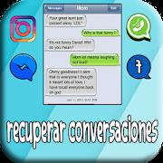 recuperar conversaciones borrados : sms&&mensajes