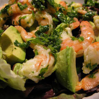 Shrimp Salad with Avocado and Cilantro Recipe