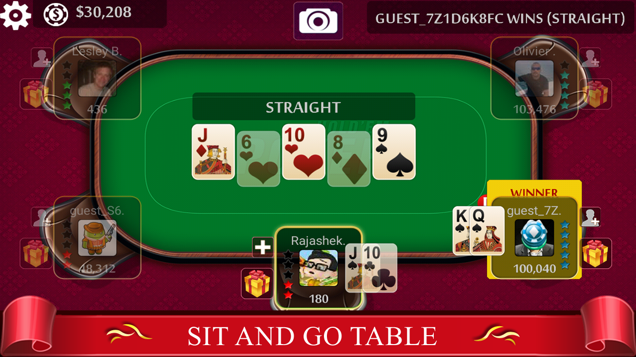 free live holdem poker