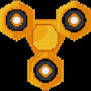 Fidget Spinner Color by Number: Pixel Art No.Color APK for Ubuntu