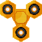 Fidget Spinner Color by Number: Pixel Art No.Color icon