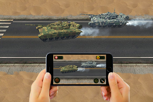 RC Tank Remote Control Sim AR. 0.1 screenshots 2