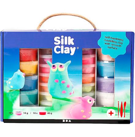 Lera Silk Clay presentask mix