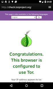 Fire.onion (Browser + Tor)- screenshot thumbnail