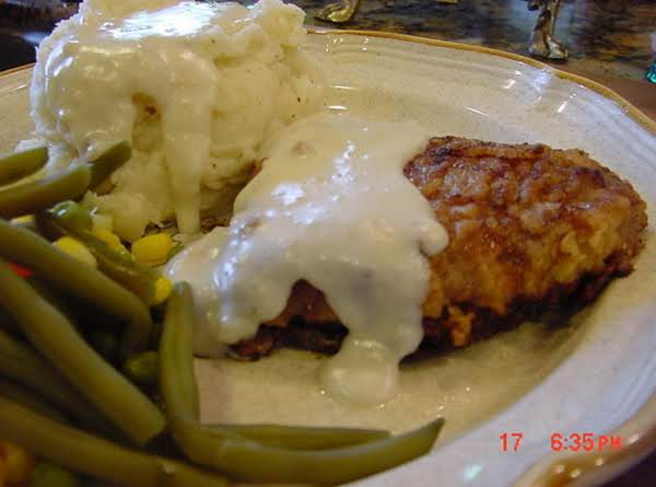 Bonnie S Chicken Fried Steakthe Best Just A Pinch Recipes