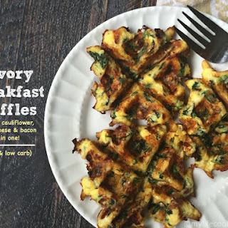 Savory Breakfast Waffles (Low Carb) Recipe