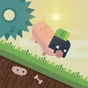 Save the Piggy: runner-platformer