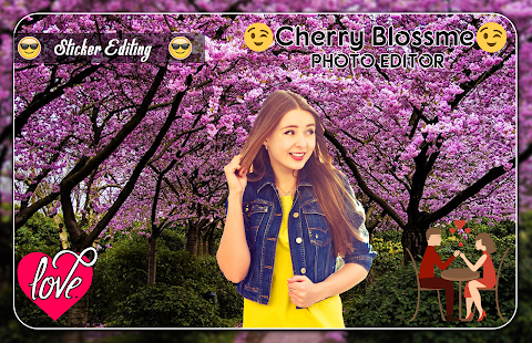 Cherry Blossome Photo Editor - náhled